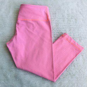 Lululemon pink capri bottoms sz 8